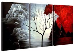 framed office wall art. Amazon.com: Home Art - Abstract Giclee Canvas Prints Modern Framed Wall For Decor Perfect 3 Panels Decorations Office F