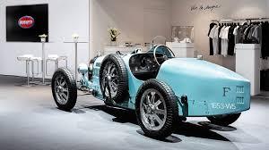Michel bugatti is ettore bugatti's son. Retromobile Bugatti Presents La Maison Pur Sang
