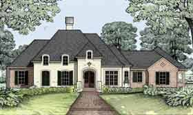Michael Campbell Design  LC   Resources   Lafayette  Louisiana    House Plan French Country