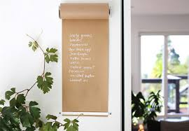 wall mounted kraft paper roll two sizes two colours available