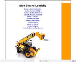 Jcb 535 125 Lifting Chart Jcb Liftall Loadall 535 125 Hiviz_550 170 Engine Jcb Tier