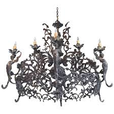 viyet designer furniture lighting arte de mexico ornate hand forged wrought iron chandelier