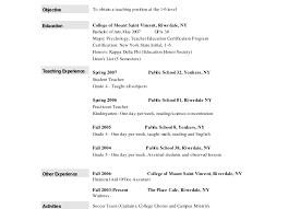 Resume Stunning Teachers Assistant Resume Excellent Resume
