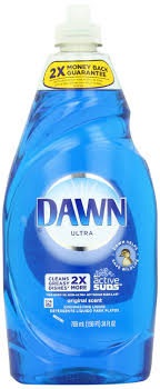 any dawn dish liquid will remove fleas from any pet works freat