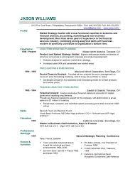 Resume Cv Format Example