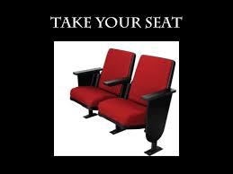 Take Your Seat Heifetz International Music Institute