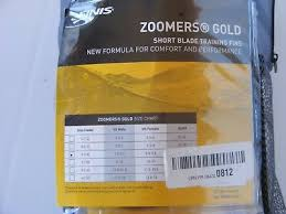 Finis Zoomer Z2 Gold Fins Size Chart Finis Z2 Gold Zoomers Short Blade Training Swim Fins Size E