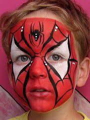 spiderman makeup for billa 39 s costume