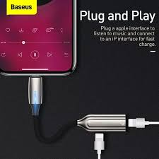 <b>Baseus</b> 2 in 1 Male to Dual & 3.5mm Jack Female Aux Audio ...