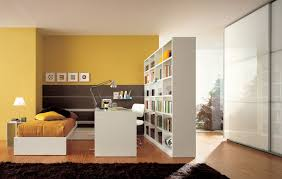 room divider furniture. Yellow Boys Bedroom Painting Also Creative Room Dividers White Modern Study Desk Divider Furniture