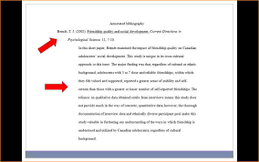apa annotated bibliography example   Google Search