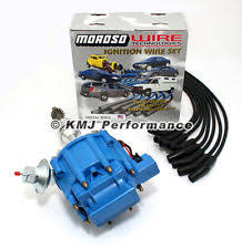 ford 289 coil wiring ford hei distributor amp accel wires blue kit ford distributor sbf ford 289 302 hei ignition blue cap distributor moroso race wires 135