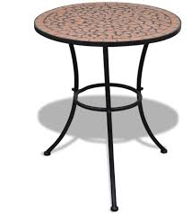 Tidyard Balcony <b>Mosaic Side Table</b> Livingroom <b>Coffee Table Plant</b> ...