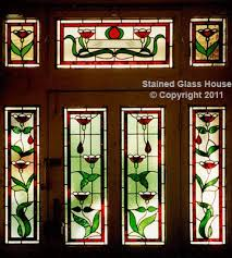 stained glass edwardian