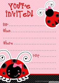 baby shower invitation blank templates 10 unique ladybug baby shower invitations your guests will remember