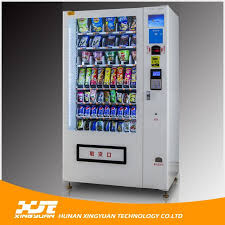Hot Food Vending Machine Malaysia Cool Hot Sale Coin Operated Combo Drink Food Vending Machine Supplier
