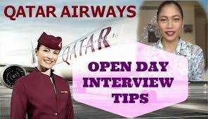flight attendant interview tips qatar airways cabin crew open day interview tips miss kaykrizz