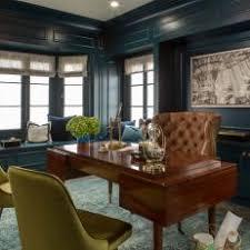 bay window desk home office modern. Bay Window Desk Home Office Modern. Modern Blue With P