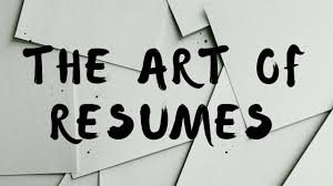 How To Write A Resume The Art Of Resumes Youtube