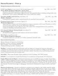 Resume For Federal Jobs Stunning How To Write A Resume For A Federal Job Lovely Resume For Federal