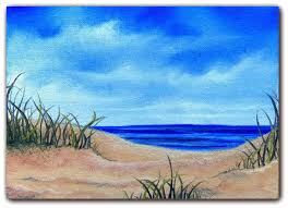 easy landscape art beach paintings best canvas painting images throughout on remodel 15