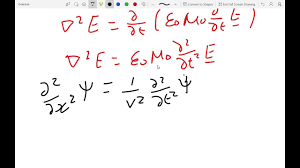 using maxwell s equations to find the wave equation for an em wave