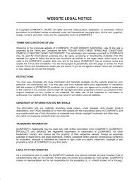 Legal Notice Template Word Pdf By Business In A Box
