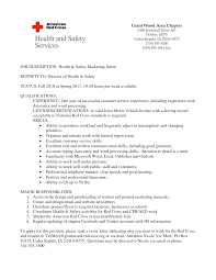 resume objective internship resume for study
