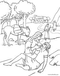 Mormon Doodles The Good Samaritan Coloring Page Church Stuff