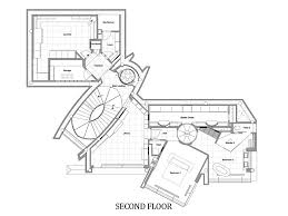 Second Floor Plan  Lake House  Lake Tahoe by Mark Dziewulski Architect
