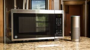 ge smart countertop microwave oven with scan to cook technology review ge s smart microwave works well with alexa but scan to cook is underheated