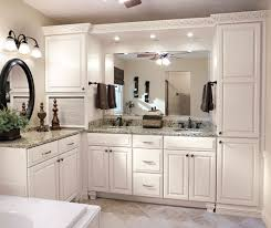 kitchen cabinets in bathroom. Painted Bathroom Cabinets In Maple By Diamond Cabinetry Kitchen A