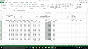 How To Create Spc Chart In Excel How To Create X Bar And R Control Charts In Excel Youtube