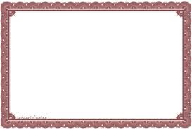 Certificate Outline Download Certificate Template Free Png Transparent Image And