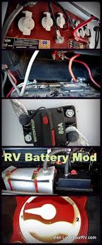 trojan volt batteries rv install rv battery addon mod by love your rv