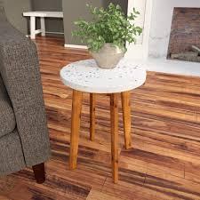 adalene terrazzo outdoor table round