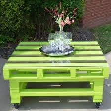 lime green patio furniture. pallet coffee table absolutely love the lime green outside on patio furniture i