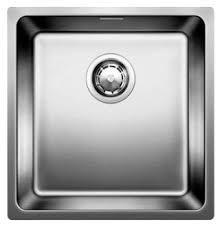 Врезная <b>кухонная мойка Blanco Andano</b> 400-U InFino 44х44см ...