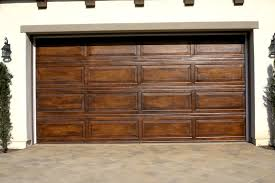 Interesting Diy Faux Wood Garage Doors Decorative Finishes On Inspiration