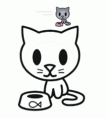 Small Picture Cute Kitty Coloring Pages Littlest Pet Shop Cute Cat Coloring Page