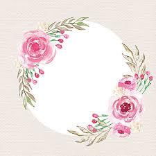 beautiful watercolor rose vector background watercolor rose frame background image