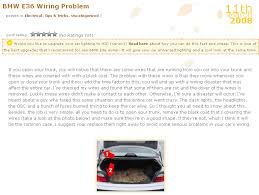 bmw wiring harness problems bmw image wiring diagram e39 electrical problems traced to trunk lid harness wire chafing on bmw wiring harness problems