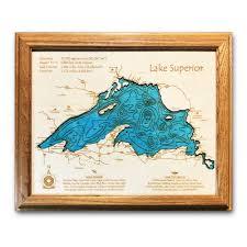Lake Superior Depth Chart Lake Superior Chart Www Bedowntowndaytona Com