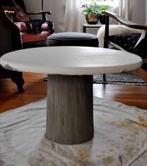 pouring concrete coffee table diy pete coffee table concrete diy round concrete coffee table diy concrete and wood coffee table