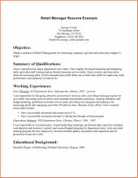 Download Resume For Retail berathen Com