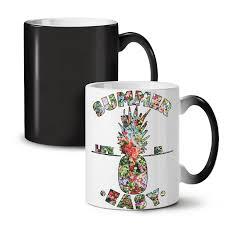 Easy Life Design Coffee Mugs Easy Life Pineapple New Black Colour Changing Tea Coffee