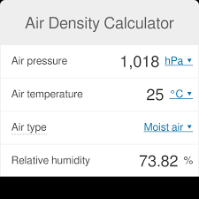 Air Density Calculator What Is The Density Of Air Omni