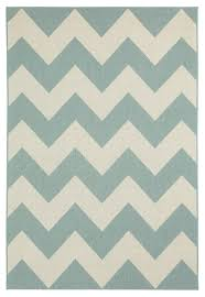 elsinore chevron machine woven rectangle rug resort blue 7 10 x11
