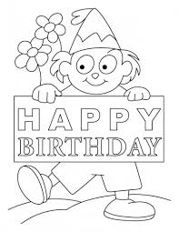 c41bd2f3c381635191043bf058e91510 7 best images about birthday coloring pages on pinterest on birthday coloring card