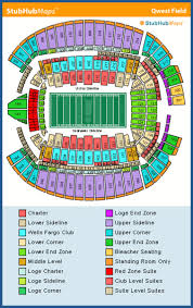 Seattle Seahawks Tickets Seating Chart Best Picture Of